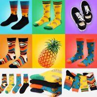 Unisex Womens Men Vintage Retro Cotton Socks Funny Painting Art Novelty Socks UK