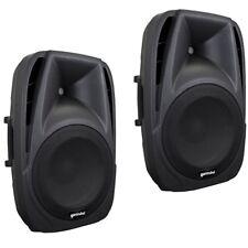 GEMINI ES 12P coppia casse speaker diffusori 2 vie amplificati x live disco bar