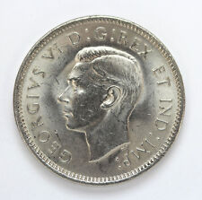 1942 Canada 5 Cents George VI Km33 - Unc #01271919g