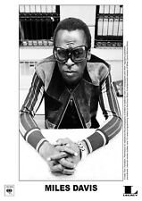 "Reproduction ""Miles Davis - Sunglasses"" Poster, Jazz, Wall Art, Vintage Print"