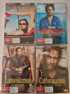 Californication Seasons 1-4 DVD - Free Fast Tracked Postage