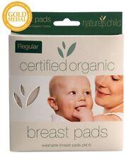 New Mum Breastfeeding Breast Pads Natural Nursing Nature's Child Organic Cotton