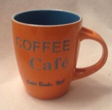 Outer Banks NC Coffee Cafe Cup Mug Orange Novelty