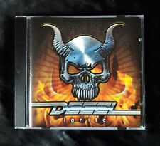 Deezl - Ignite. (CD) New Album feat. John West. Heavy Metal / Hard Rock (2017)