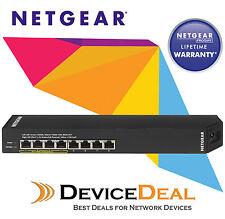 NETGEAR GSS108EPP ProSafe Plus 8-Port Gigabit Click Managed Switch with 4 PoE+