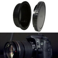 2pcs  Front and Rear Lens Body Cap Kit for Canon AF Mount Lens/Camera