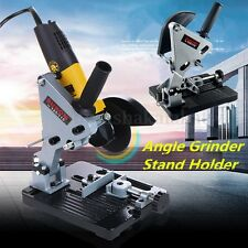 100-125mm Angle Grinder Cutter Bracket Support Holder Stand Dock Cast Iron Base