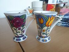 Isla flower  mugs x2