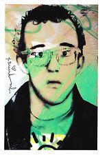 Mr Brainwash Keith Haring art show Promo print popart warhol lichtenstein banksy