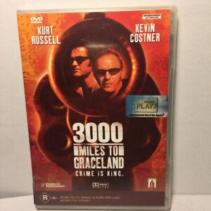 3000 Miles To Graceland  (DVD, 2001) Region 4 PAL