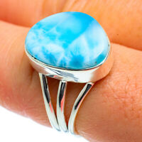 Larimar 925 Sterling Silver Ring Size 8.25 Ana Co Jewelry R40377F