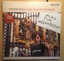 Morrissey Low in High School LIMITED EDITION CLEAR VINYL LP ALBUM SEALED