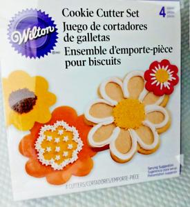 Wilton Cookie Cutter Set Blossom Nest Cookie Cutter Set 4 piece Set