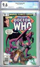 Marvel Premiere #58 (Dr Who)  CGC Graded 9.6 (NM+) 1981 - Bronze Age.