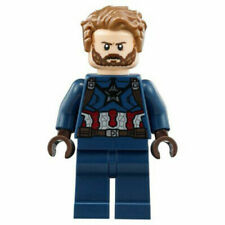 LEGO sh495 - CAPTAIN AMERICA FROM SET 76101 AVENGERS INFINITY WAR - Neuf