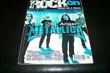 ROCK ON MAGAZINE 5/2003 METALLICA CIRCLE II CIRCLE