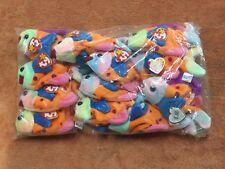 TY Beanie Baby Lips, 1 Dozen Wholesale Lot, NEW, PE Pellets, China, MWMT
