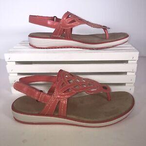 Size 6 Pink Kim Rogers Tessy Sandals.