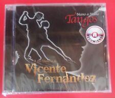 MANO A MANO TANGOS A LA MANERA DE VICENTE FERNANDEZ (CD, 2014 - Sony) BRAND NEW!