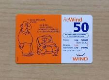 RICARICA TELEFONICA WIND - BATTUTA UMORISTICA BY AUTAN - 2001 - REWIND -50 EURO