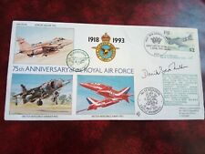 FIJI - SIGNED FIRST DAY COVER RAF 75TH ANNIVERSARY APRIL 1993.