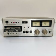 Vintage Panasonic Rs-808 Eight 8 Track Player Recorder Tested Working