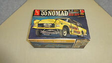 VINTAGE AMT '55 CHEVROLET NOMAD 3 IN 1 MODEL KIT 2755-200 STATION WAGON / PICKUP