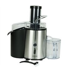 electriQ Whole Fruit Power Juicer 990W in Stainless Steel with Jug