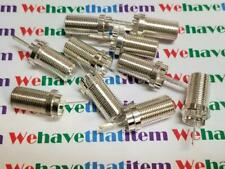 RCA TYPE RF CONNECTOR / RCA # 215543 / WITH TEFLON / 10 PIECES (qzty)