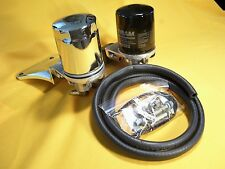 PANHEAD '48-'65 SHOVELHEAD '66-'69 SPIN-ON OIL FILTER SYSTEM