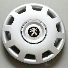 "4 x 13"" Peugeot 106,205,206,306... Wheel Trims / Covers, Hub Caps,black&silver"