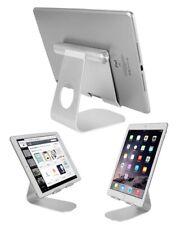 "Tablet Stand Desktop Holder Mount For iPad Pro 12.9"" 11""  iPhone Aluminum Grey"