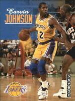 1992-93 SkyBox Los Angeles Lakers Basketball Card #358 Magic Johnson