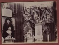 Westminster Abbey. Thomas Sprat. Zachary Pearce.  antique photograph mv.6a