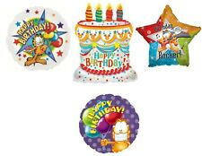GARFIELD Aquarius MYLAR BALLOON ~ Birthday Party Supplies Decorations Horoscope