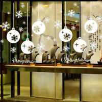 Christmas Snowflake Wall Sticker Decoration Decal Window Stickers Home Decor