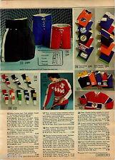 1975 ADVERTISEMENT Sweater Hockey Team Canada Peter Puck Maple Leafs Socks Pant