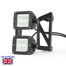 Motorcycle LED Headlight Streetfighter Project Dual Stacked - LED 40 - 41mm