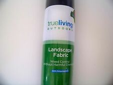 Weed Control Landscape Fabric Ground Cover Lawn 3 ft. x 45 ft - 135 Sq. Ft.