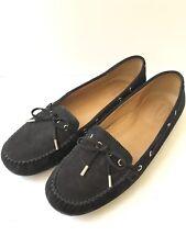Sebago Women's Harper Tie Driving Loafers Moccasins Ballet Flat Black Size 9.5