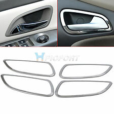 4pcs Stainless Steel Interior Door Handle Cover Trim for Chevrolet CRUZE 2009+
