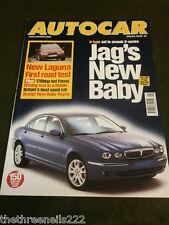 AUTOCAR - JAGUAR X TYPE - FEB 7 2001