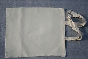 15 Plain Eco Natural Cotton Calico Shopping Bag/Totes with long handles 42*38