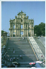 Ruins of St.Paul,Macau,China 1990