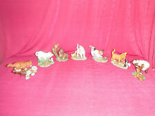 Set of Seven (7) Danbury Mint Kitten Collection
