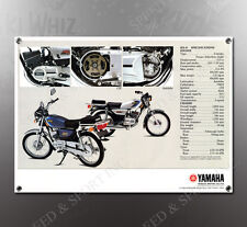 VINTAGE YAMAHA RX-5 SPEC IMAGE BANNER NOS IMAGE REPRODUCTION