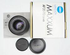 Minolta Maxxum AF 35-70mm f3.5-4.5  #60718011 ............ Minty