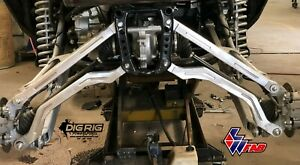 LW High Clearance Arched Radius Rods | Honda Talon R Edition Side by Side