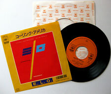 ELO ELECTRIC LIGHT ORCHESTRA Calling America - 7'' Jet Records 1986 Japan