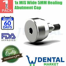 1x MIS Wide 5MM Healing Abutment Cap